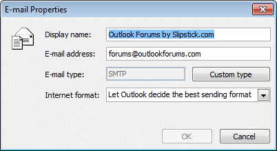 how to change outlook 2016 passwords control pannel